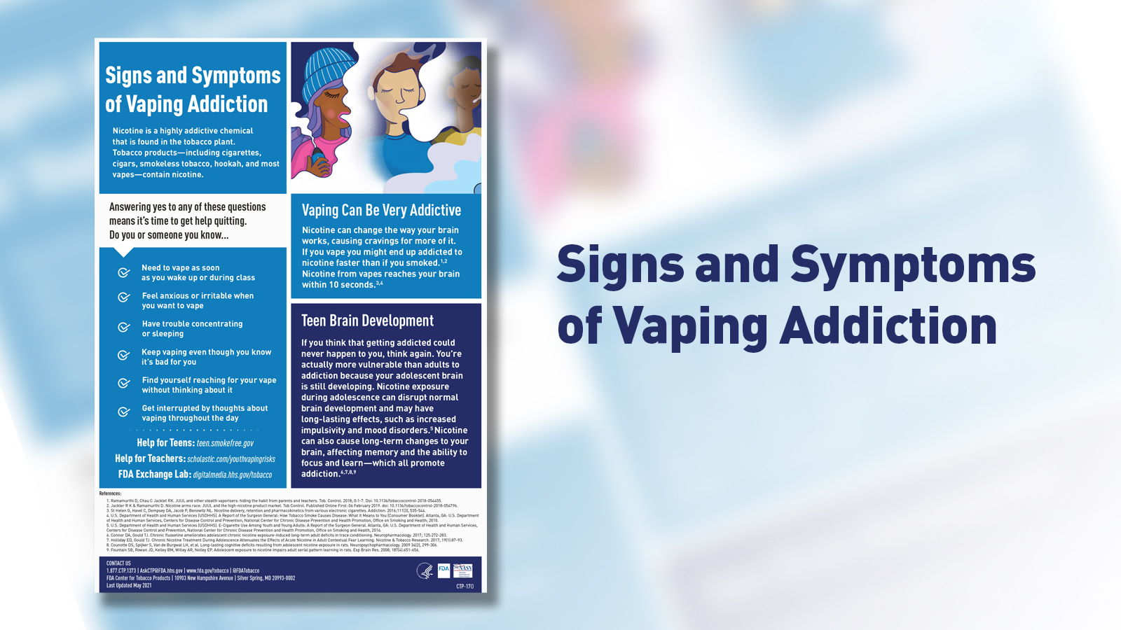 Signs and Symptoms of Vaping Addiction