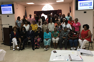 "Medical University of South Carolina (MUSC) during a ""MOVENUP Train the Trainer"""