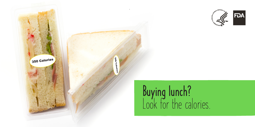 Buying lunch? Look for the calories.