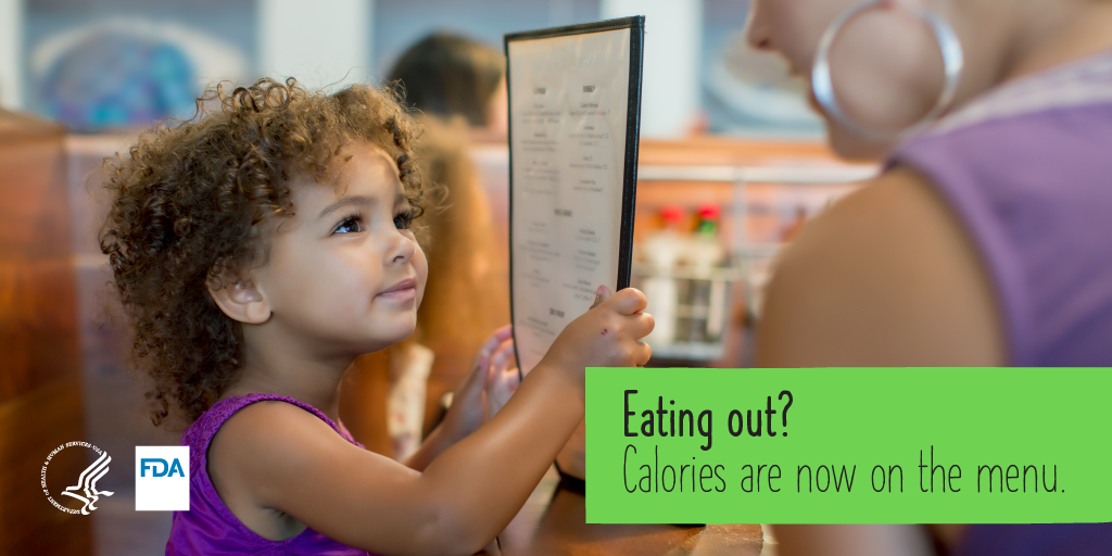 Eating out? Calories are now on the menu.