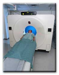 Patient in CT Imaging System