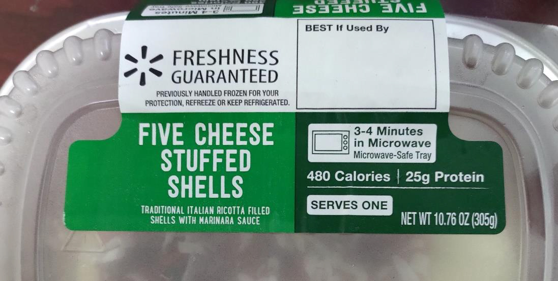 Garland Ventures LTD Voluntary Recalls Five Cheese Stuffed Shells Because of Possible Health Risk