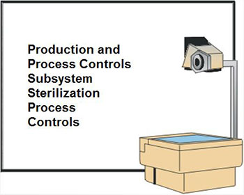 Production and Process Controls Subsystem Sterilization Process Controls