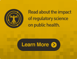 Read about the impact of regulatory science on public health.