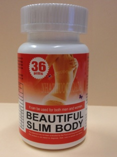 Beautiful Slim Body Label — Front