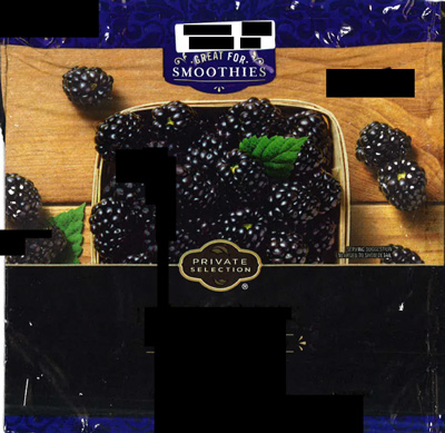 Kroger Brand Frozen Blackberries