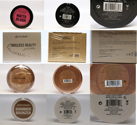 Beauty Plus Global Recalled Cosmetic Products September 2019