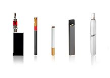 Variety of electronic nicotine devices