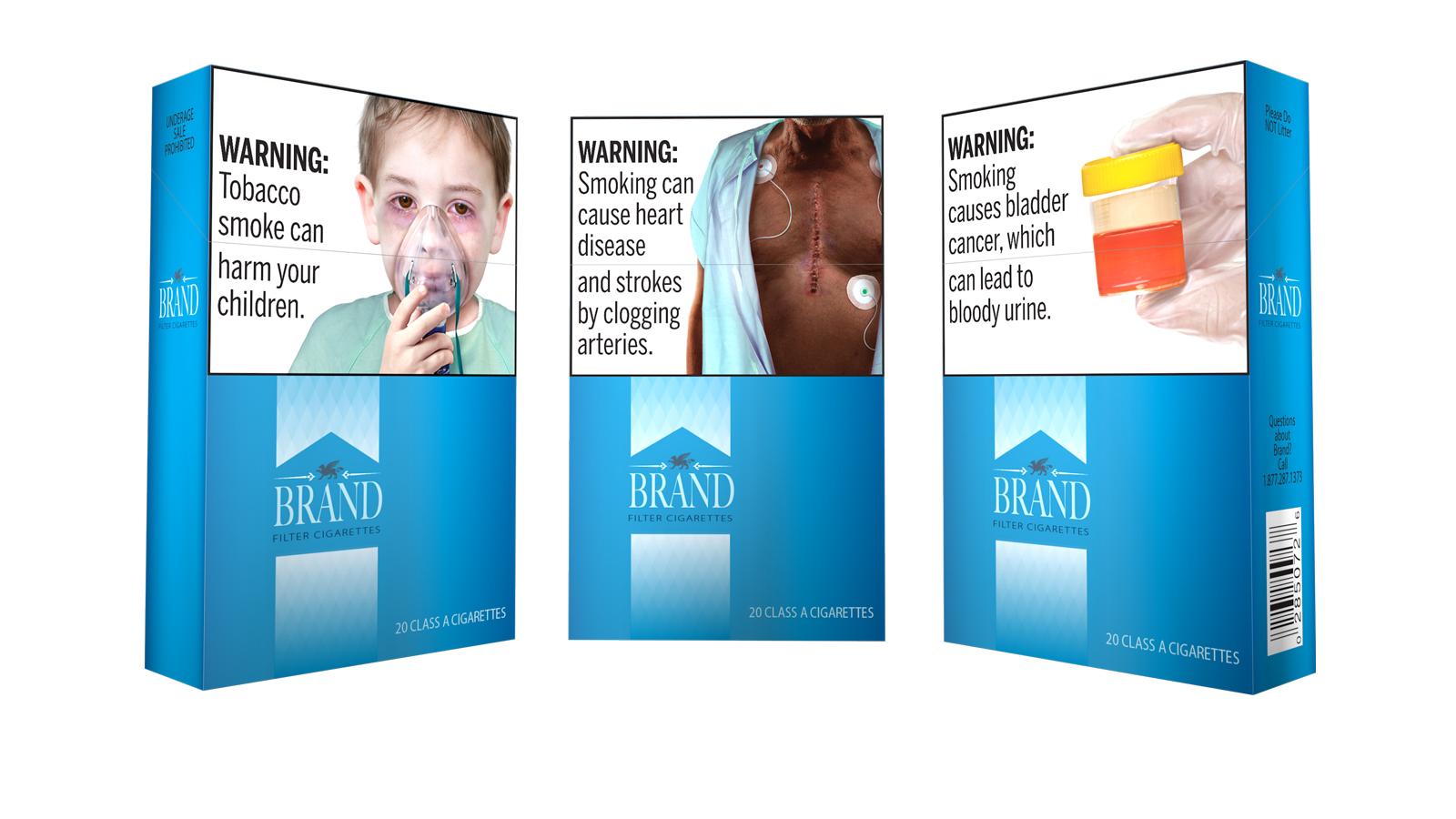 Cigarette Health Warning Labels