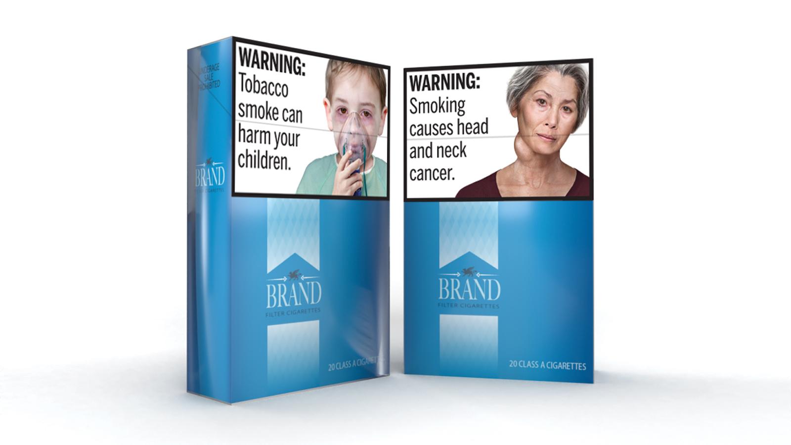 Cigarette Health Warnings