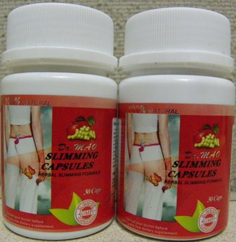 Dr. Mao Slimming Capsules Product and Label Front
