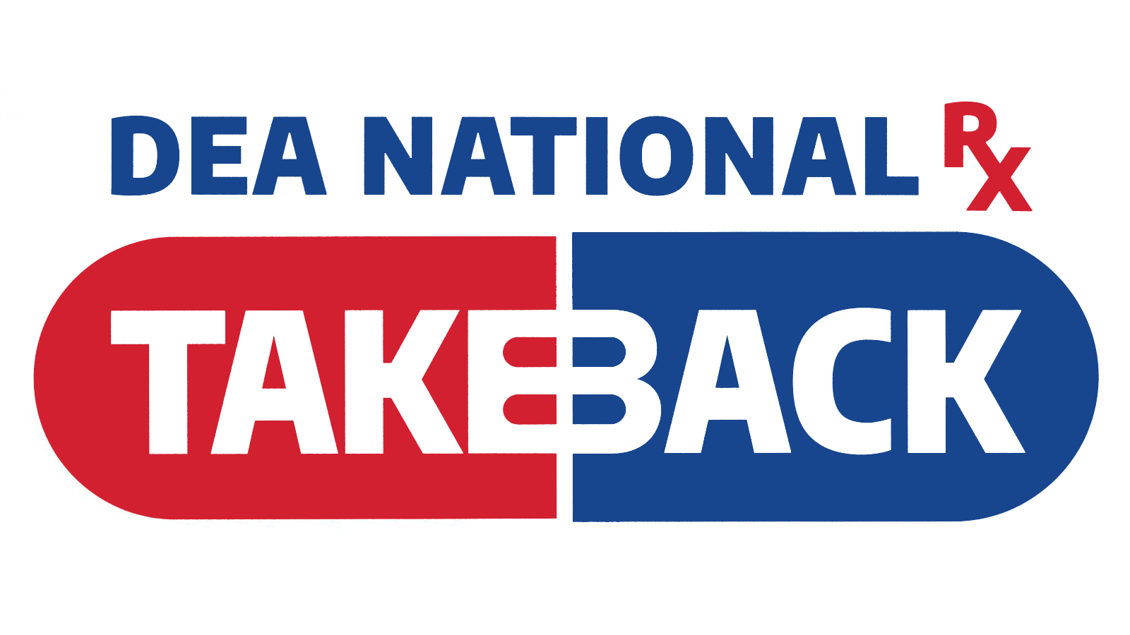 DEA National Prescription Drug Take Back Day Logo