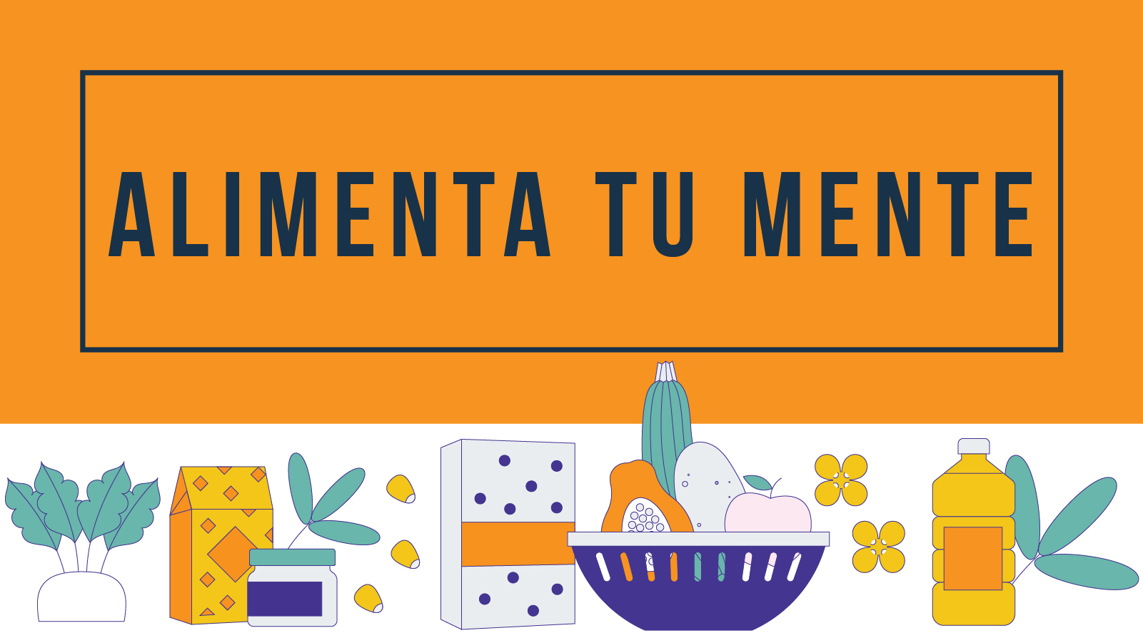 Feed Your Mind Toolkit Banner Image in Spanish