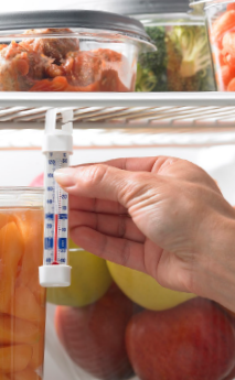 Food Facts on Refrigerator Thermometers