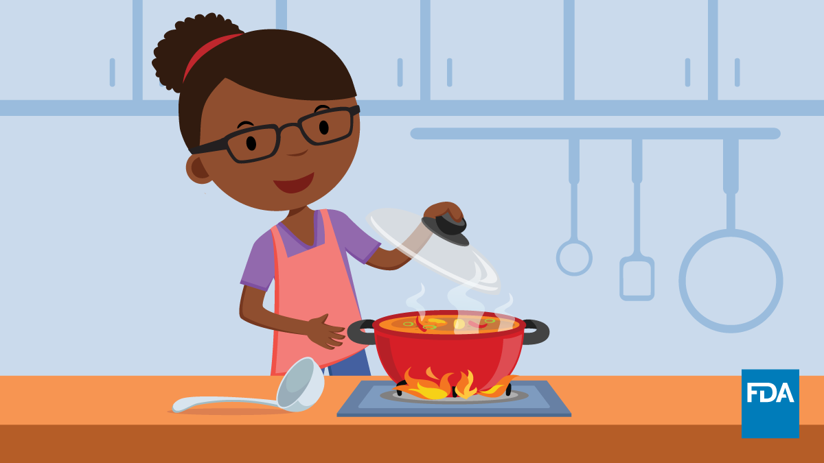 Health Educators ToolKit: A Woman Cooking