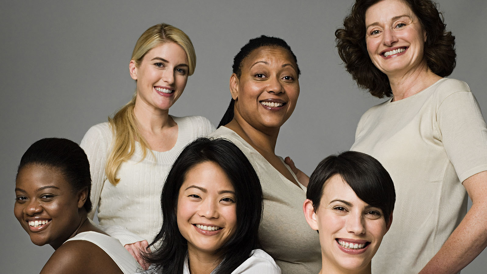 Six Women Smiling