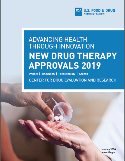 New Drug Therapy Approvals 2019 Cover