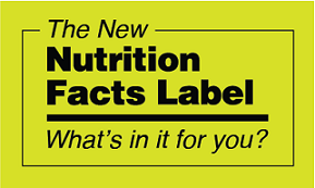 The New Nutrition Facts Label: What's in it for you?