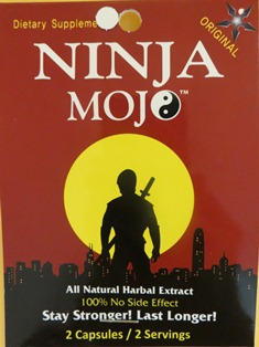 Ninja Mojo All Natural Herbal Extract Front