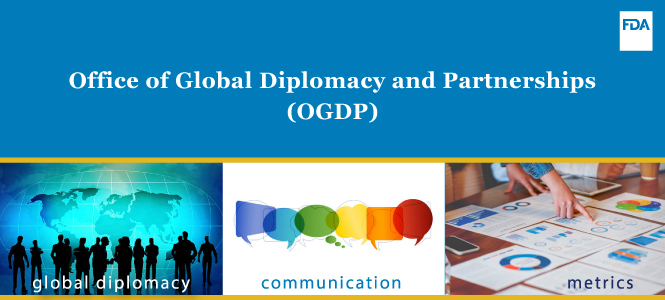 Office of Global Diplomacy and Partnerships (OGDP) Banner