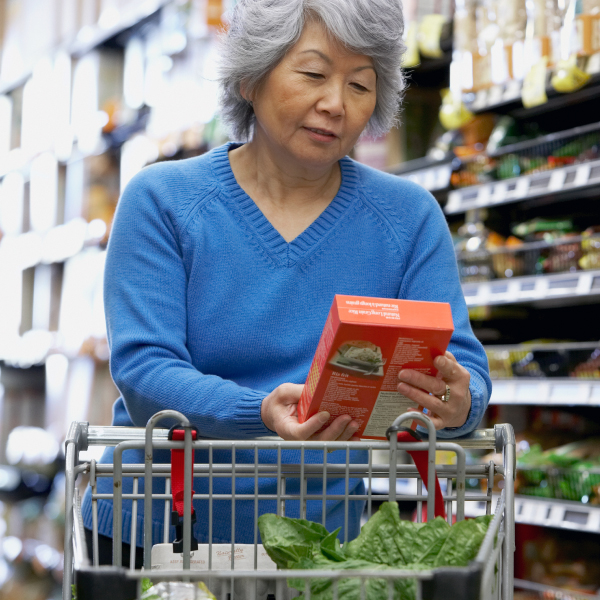Older Adult Grocery Shopping
