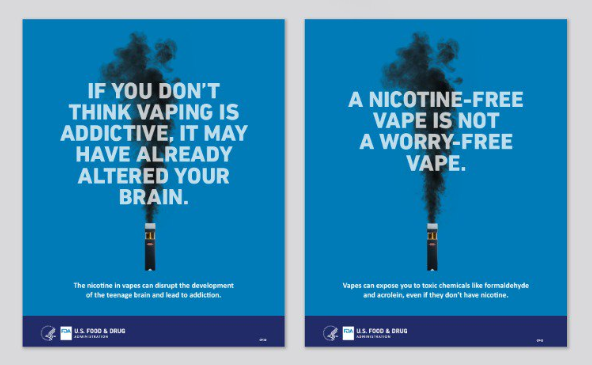 Center for Tobacco Products Nicotine Posters