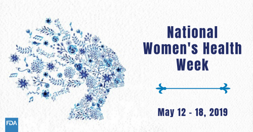 National Women's Health Week May 12-18, 2019