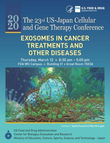 Cover Image: Exosomes secreted by cancer cells; Source: Cancer Research from Technology Networks.