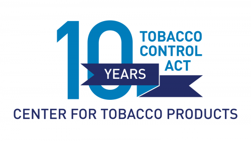 Tobacco Control Act 10 Year Anniversary Commemorative Graphic