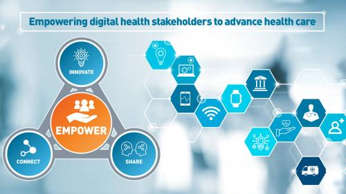 Digital Health Center of Excellence Feature Graphic