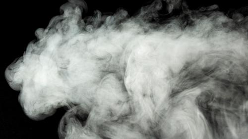 vapor from a vaping device