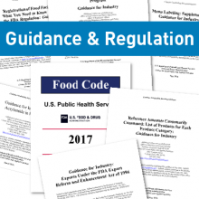Guidance and Regulation