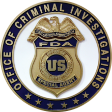 FDA Agents Guard Public Health - OCI Badge - (JPG)