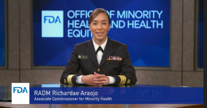 COVID-19 Vaccines: A Message from RADM Araojo and the FDA's Office of Minority Health and Health Equity