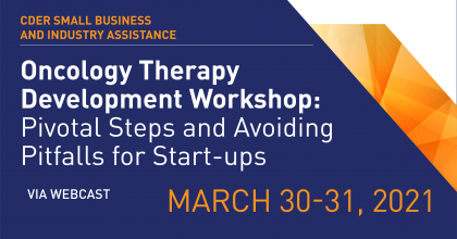 Oncology Workshop March 30-31
