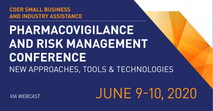 Regulatory Education for Industry (REdI): Pharmacovigilance and Risk Management Conference – New Approaches, Tools, and Technologies