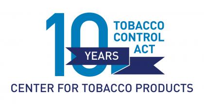 Tobacco Control Act 10 Year Anniversary Commemorative Graphic