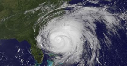 Hurricane approaching the East coast of the United States. Information for consumers on you can prepare in advance for emergencies including hurricanes. (Image of Hurricane Irene, courtesy of NOAA and NASA)