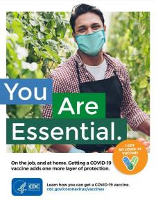 CDC COVID-19 Vaccination Communication Toolkit for Essential Workers