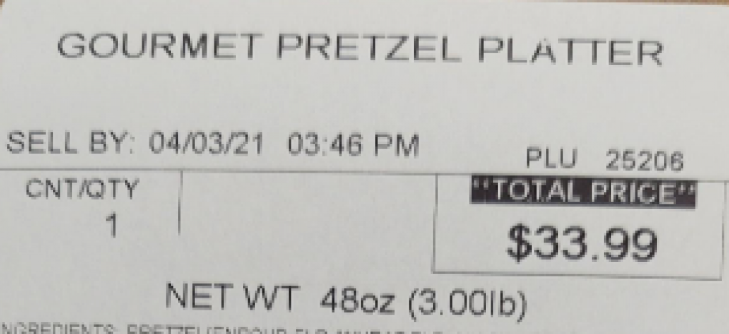 Pretzel latter sell by date