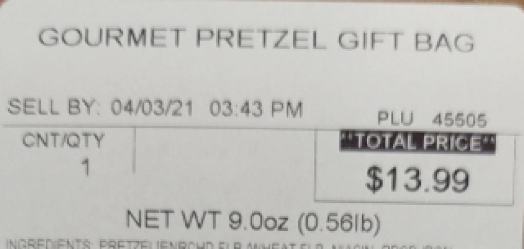Pretzel Bay Sell By date