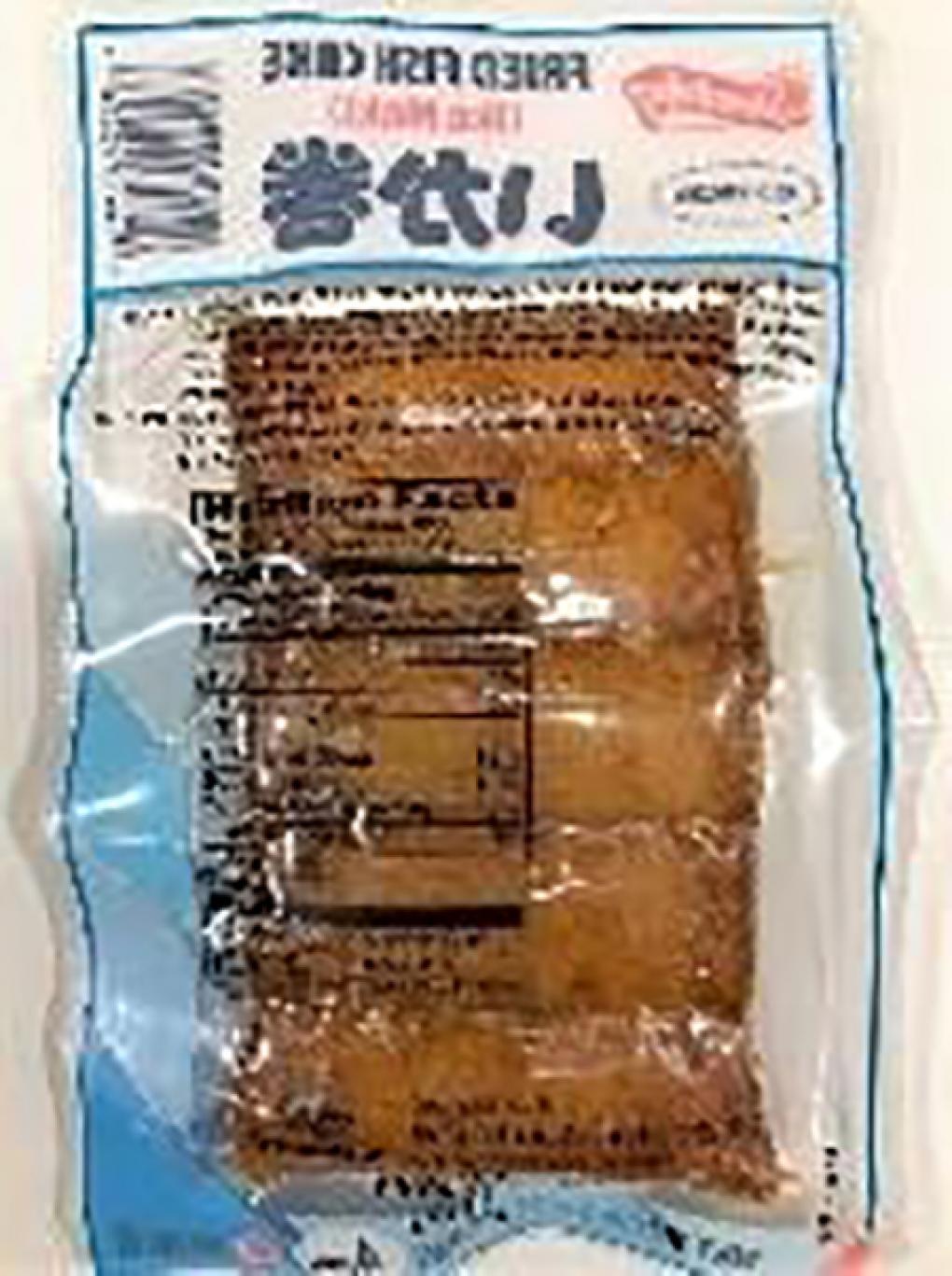 Product Image, FISH CAKE IKA MAKI SK F , Back Image