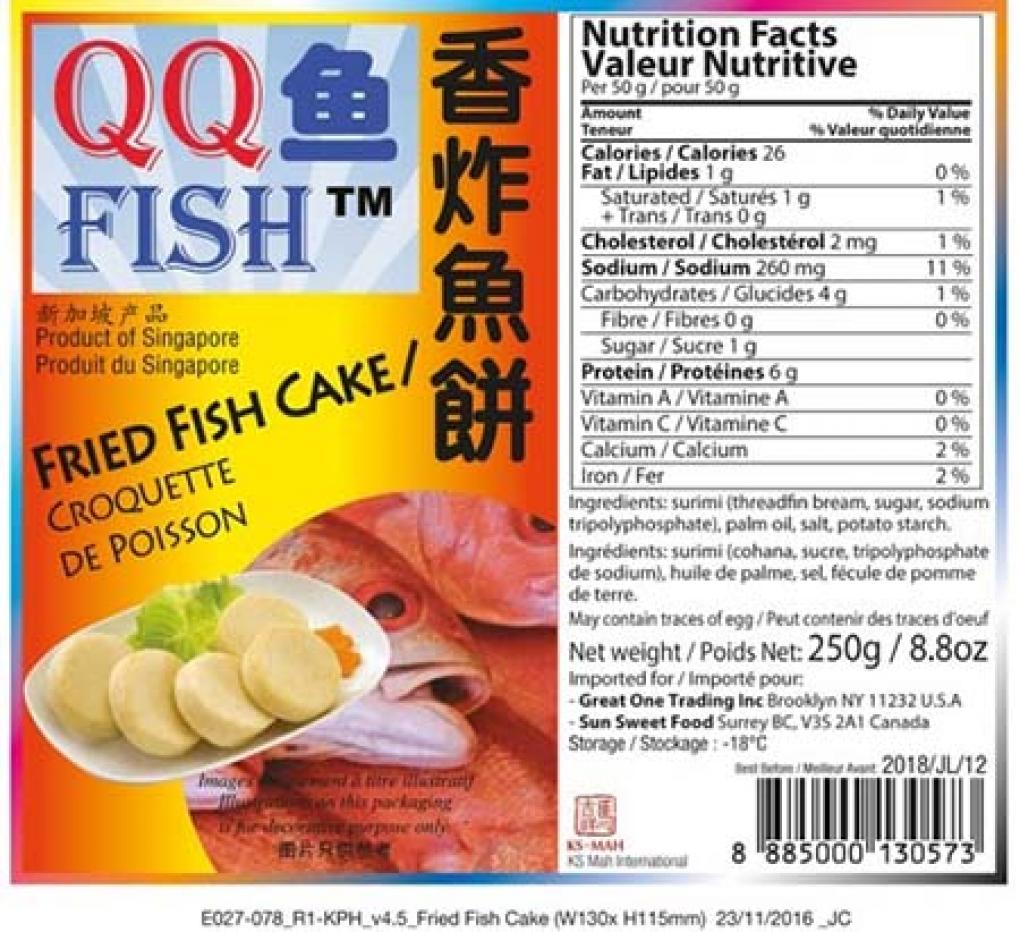 Fried Fish cake