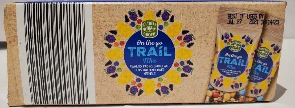 Trail Mix bar code