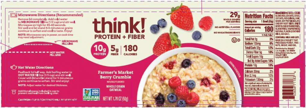 oatmeal label