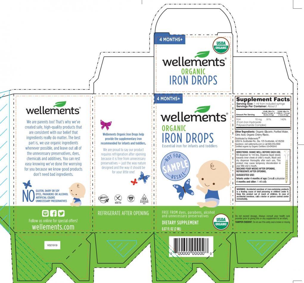 Packaging - iron drop samples