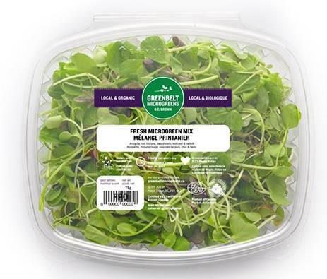"""Greenbelt Microgreens, Fresh Microgreen Mix, 75 gm"""