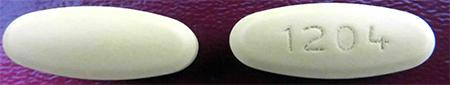 """Photo of:  Amlodipine/Valsartan Tablets"""