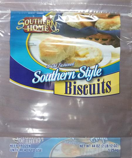 SOUTHERN  HOME SOUTHERN STYLE  BISCUITS, 12 ct UPC 8826703140