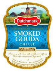 """Dutchmark Pasteurized Processed Smoked Gouda Cheese"""